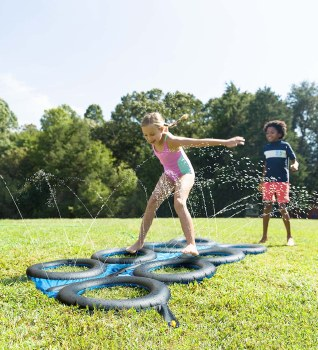 Inflatable Tire Run Sprinkler