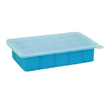 Green Sprouts Fresh Baby Food Freezer Tray Aqua