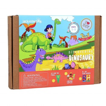3 in 1 Craft Box- Discovering Dinosaurs
