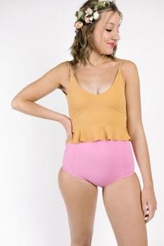 Kortni Jeane High-Waisted Pink XXL