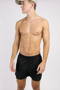 Kortni Jeane Men's Swim Shorts Black S