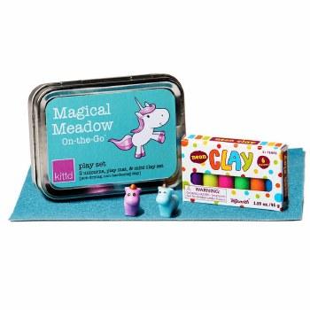 kittd Magical Meadow On-The-Go Play Set