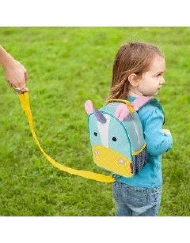 Zoo Collection Skip Hop Toddler Leash And Harness Backpack Unicorn
