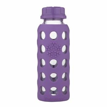 Lifefactory 9 oz Flat Cap Bottle Grape