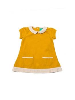 Little Green Radicals Tunic Dress Gold 3-4y