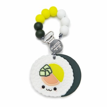 Loulou Lollipop Sushi Teether with Clip