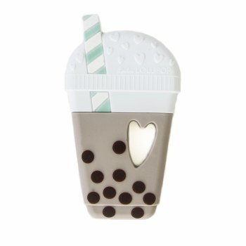 Loulou Lollipop Bubble Tea Teether Taupe