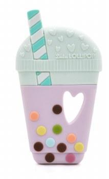 Loulou Lollipop Bubble Tea Teether Purple