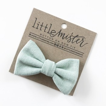 Little Mister Sage Bow Ties S