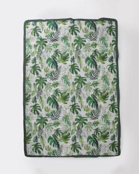 Tropical Leaf 5x7 Outdoor Blanket
