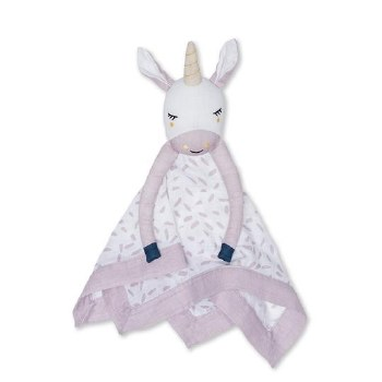LuLuJo Muslin Lovie Unicorn