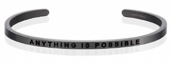 MantraBand Anything Is Possible Moon Gray