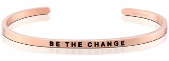 MantraBand Be The Change Rose Gold