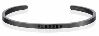 MantraBand Blessed Moon Gray