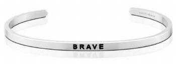 MantraBand Brave Silver