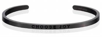 MantraBand Choose Joy Moon Gray