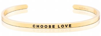 MantraBand Choose Love Yellow Gold