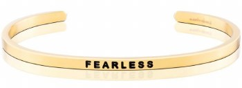 MantraBand Fearless Yellow Gold
