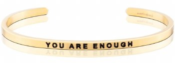 MantraBand You Are Enough Yellow Gold