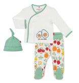 Magnetic Me Organic Cotton Perfect Puns Kimono Set 0-3 Months
