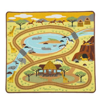 Melissa & Doug Round the Savanna Safa