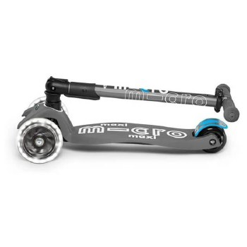 Maxi Deluxe Foldable LED Scooter Volacano Gray