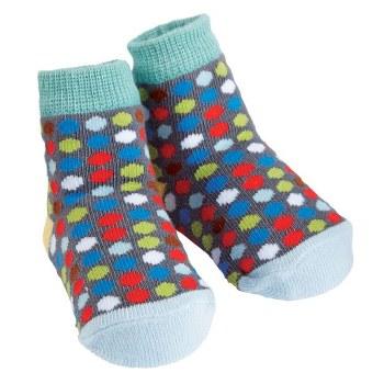 MudPie Dotted Socks