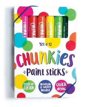 Ooly Chunkies Paint Sticks 12