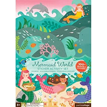 Mermaid World Sticker Activity Set