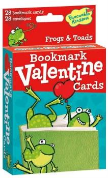 Peaceable Kingdom Bookmark Valentines