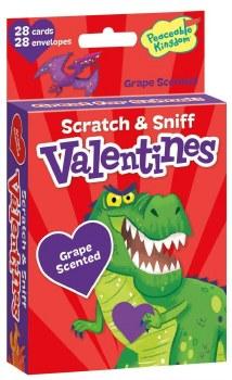 Peaceable Kingdom Scratch & Sniff Valentines Grape