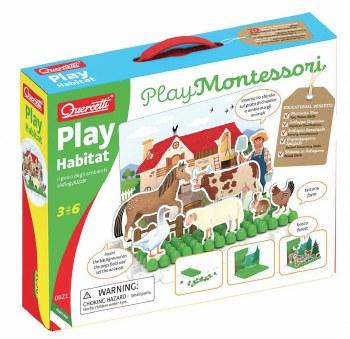 Quercetti Play Habitat Montessori
