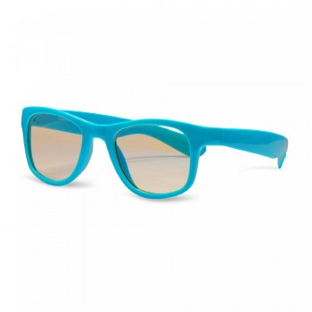 Real Shades Screen Shades Blue Light Glasses For 2+ Aqua