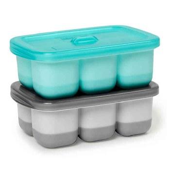 Skip Hop Easy Fill Freezer Tray Teal