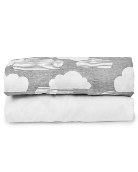 Skip Hop Travel Crib Fitted Sheet