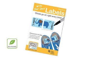 Write Your Own Labels Shoes Parade Stars