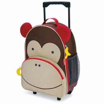 Skip Hop Rolling Luggage Monkey