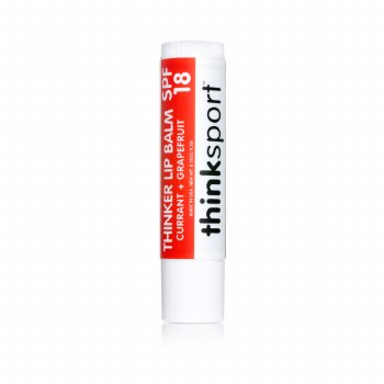 Thinksport Lip Balm SPF18- Currant + Grapefruit