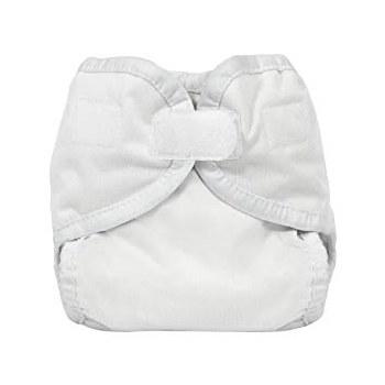 Thirsties Newborn/Preemie Hook & Loop Diaper Cover White