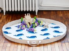 3 Sprouts Playmat Whale