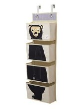 3 Sprouts Wall Organizer Bear