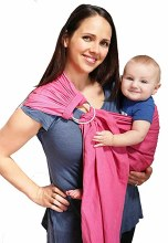 Maya Wrap Comfort Fit Ring Sling in Briar Rose