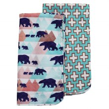 Bumblito Burp Cloth Set Adven