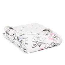 aden + anais Silky Soft Stroller Blanket - Meadow