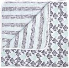 aden + anais White Label Dream Blanket - Seaside