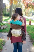 Action Baby Toddler Carrier - Chevron