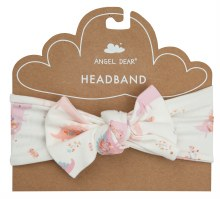 Angel Dear Floral Dinosaur Headband
