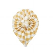 Angel Dear Gingham Honey Headwrap