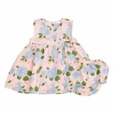 Angel Dear Hydrangea Kimono Dress & Diaper Cover