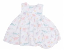 Angel Dear Pretty Ocean Kimono Dress & Diaper Cover